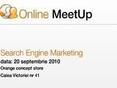 Despre Search Engine Marketing la Online MeetUp
