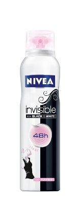 Deodorantul NIVEA Invisible for Black & White